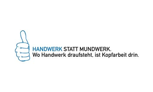 Logo Handwerk statt Mundwerk